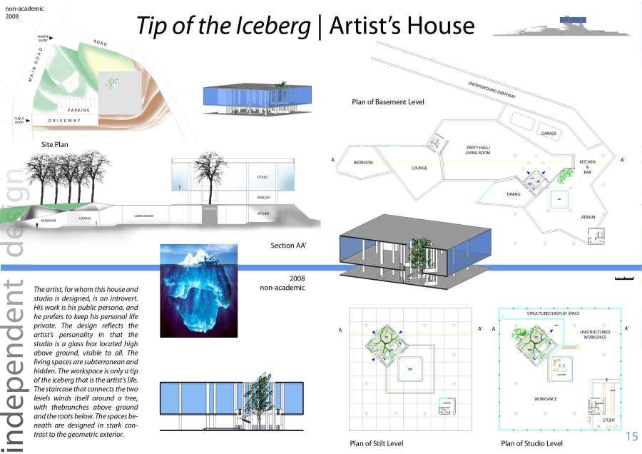 iceberg artist's residence