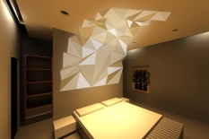 tessellated ceiling