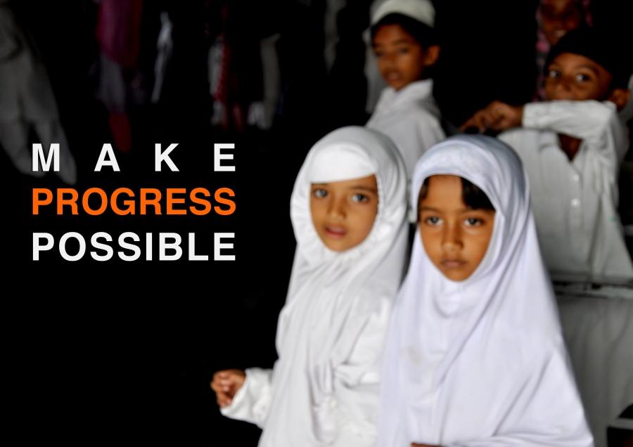 #MakeProgressPossible