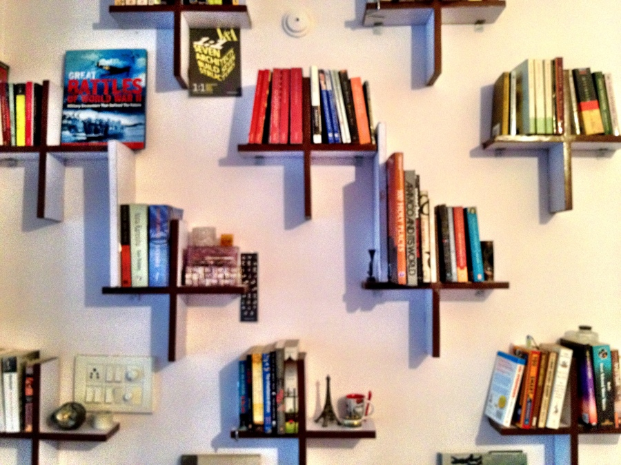 bookshelves ++