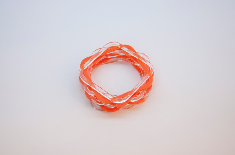 turning torso bangle