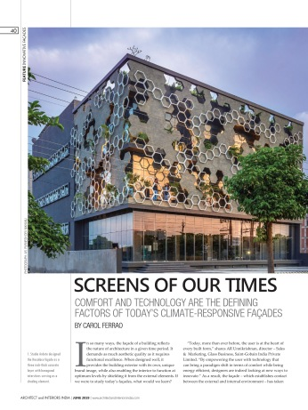 Architect and Interiors June 2019-2