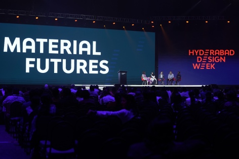 'Material Futures' panel discussion at Hyderabad Design Week Conference 2019. Photo credit Rishitha Devi (5)