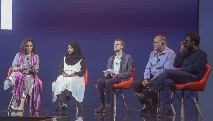 'Material Futures' panel discussion at Hyderabad Design Week Conference 2019