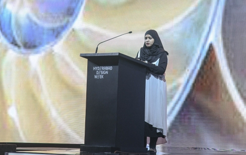 Takbir Fatima, Director, DesignAware at Hyderabad Design Week Conference 2019 (2)